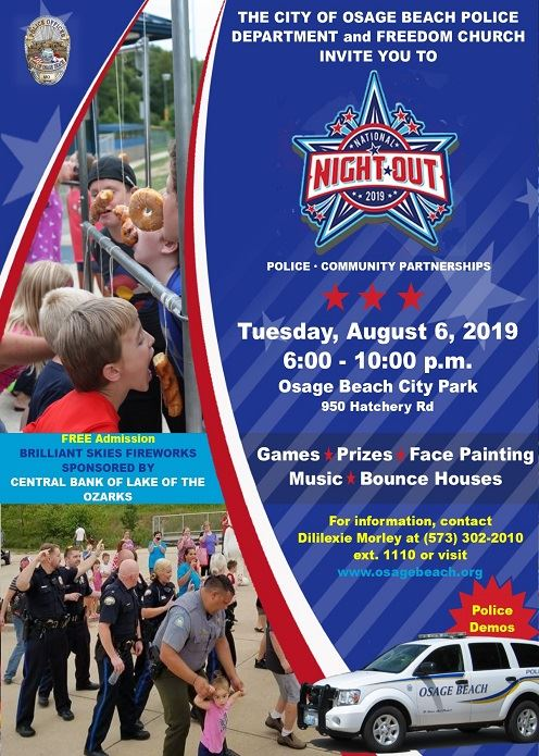 2019 National Night Out Flyer 496 X 695